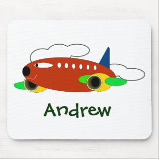 Christmas mousepad: Air Craft Mouse Pad