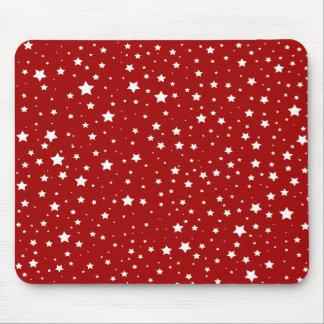 Christmas Mousepad | Star Snow Christmas