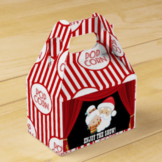 Christmas Movie Night popcorn box