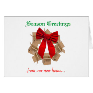 Christmas Moving Card