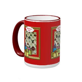 Christmas mug, Gifts galore Ringer Mug