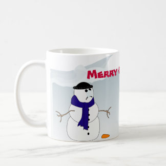 Christmas Mug with Snowmen
