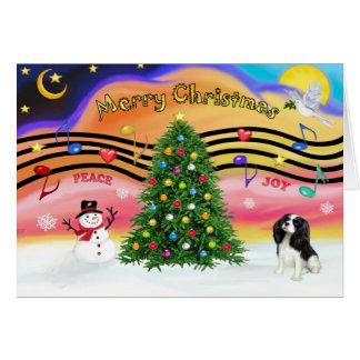 Christmas Music 2 - Cavalier (Tri) Card