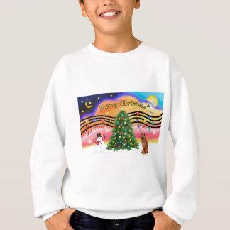 Christmas Music 2 - Chow Chow (red) Sweatshirt
