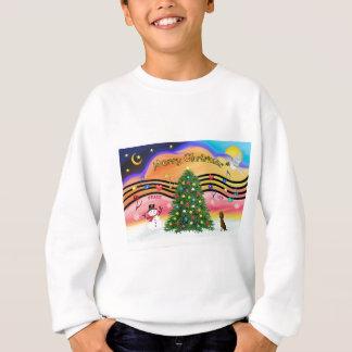 Christmas Music 2 - Dachshund (  ) Sweatshirt