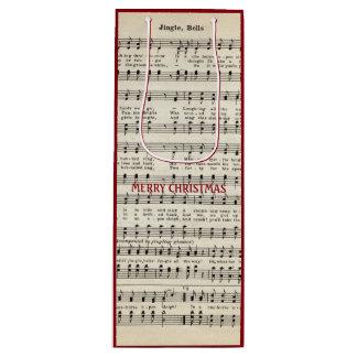 Christmas Music, Jingle Bells Gift Bag