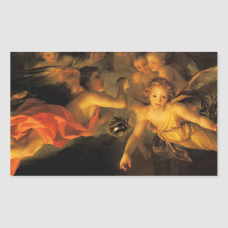 Christmas Nativity Angels Sticker