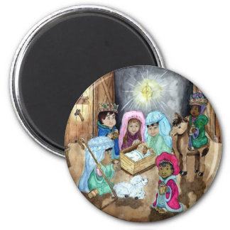 Christmas Nativity Magnet