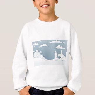 Christmas Nativity Mary Joseph and Bethlehem Sweatshirt