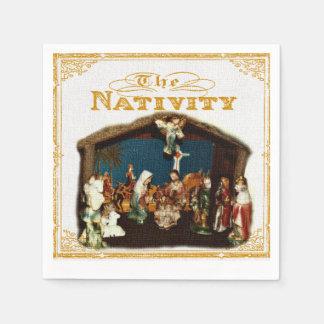 Christmas Nativity Napkins Paper Napkin