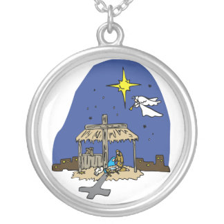 Christmas Nativity Necklace