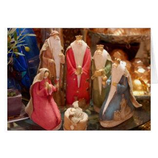 Christmas Nativity Photo Greeting Card