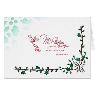 Christmas & New Year Card