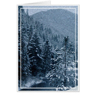 Christmas, New Year, Holiday - Blank Card