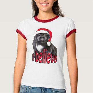 christmas newf puppy T-Shirt