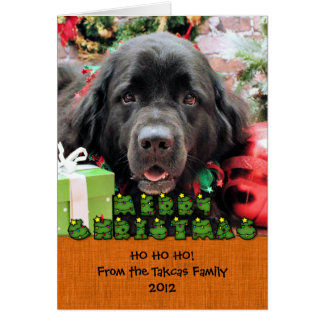 Christmas - Newfoundland - Izzie Card