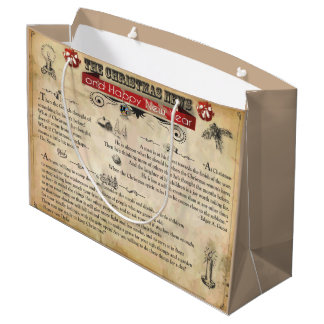 Christmas News Gift Bag - Large, Glossy