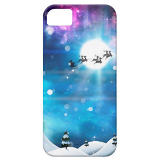 Christmas Night and Santa 2 iPhone 5 Covers