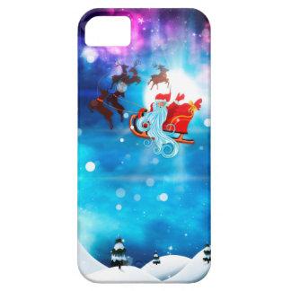 Christmas Night and Santa iPhone 5 Case
