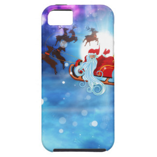 Christmas Night and Santa iPhone 5 Covers