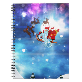 Christmas Night and Santa Notebooks