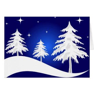 Christmas night - Card