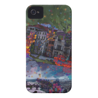 Christmas night Case-Mate iPhone 4 case