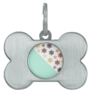 Christmas Night Pet ID Tag