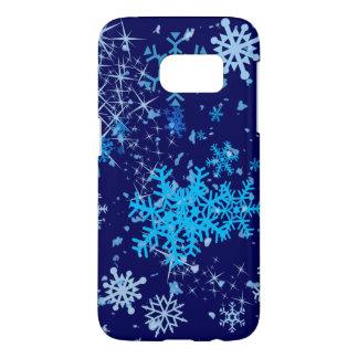 Christmas Night Snowfall Samsung Galaxy S7 Case