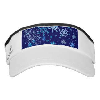 Christmas Night Snowfall Visor