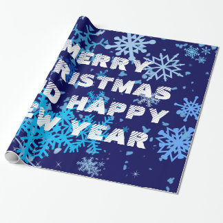 Christmas Night Snowfall Wrapping Paper