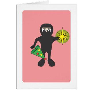 Christmas Ninja Card