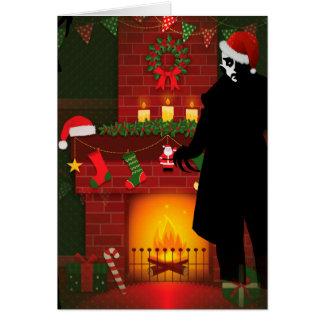 christmas nosferatu card