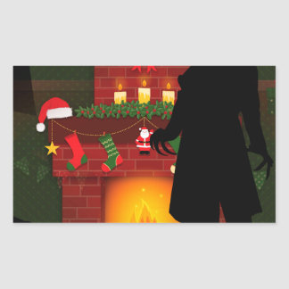christmas nosferatu sticker
