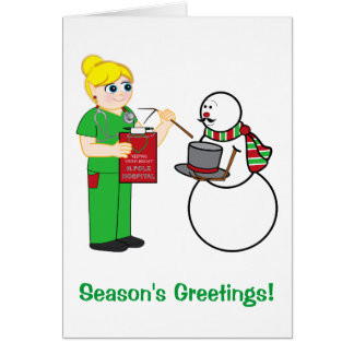 Christmas Nurse Appreciation Card