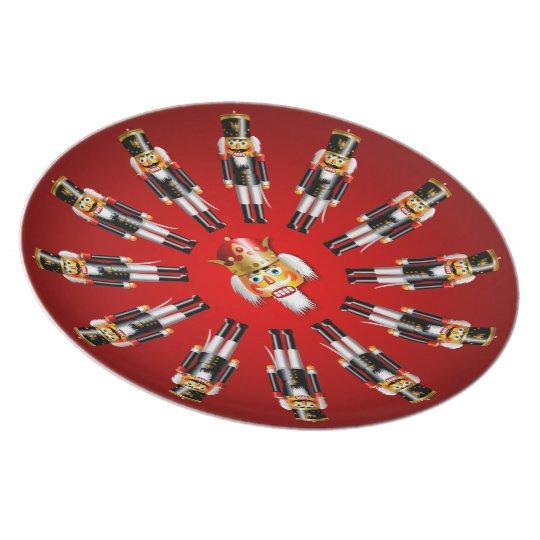 Christmas Nutcracker Army Plate