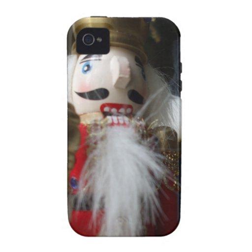 Christmas nutcracker Case-Mate iPhone 4 case