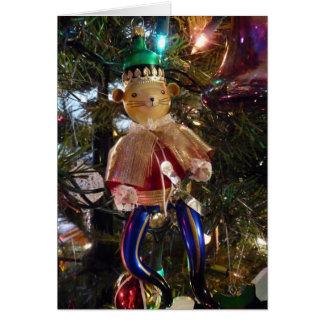 Christmas Nutcracker Decoration and Ornaments Card