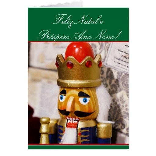 Christmas Nutcracker greeting card