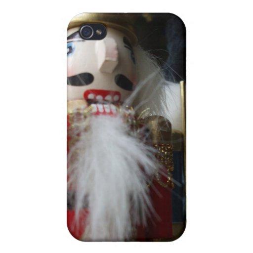 Christmas nutcracker iPhone 4/4S cover