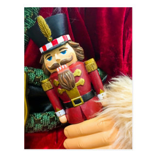 Christmas Nutcracker Postcard