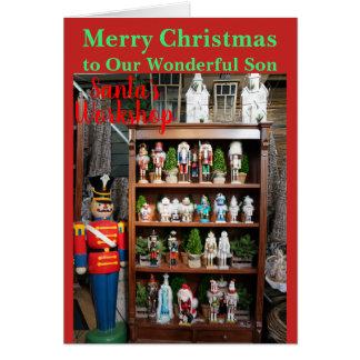 Christmas Nutcracker Son Card