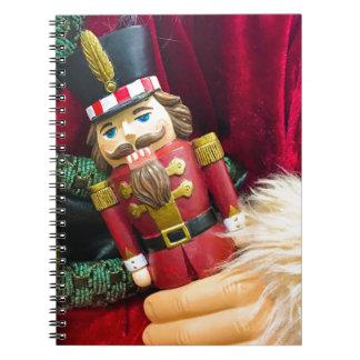 Christmas Nutcracker Spiral Notebook