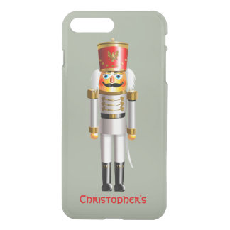 Christmas Nutcracker Toy Soldier In White Uniform iPhone 8 Plus/7 Plus Case
