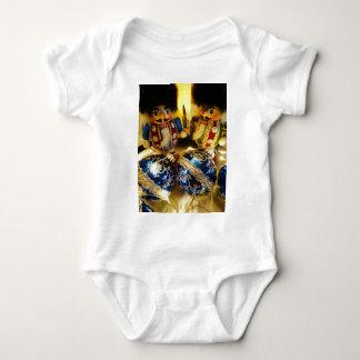 Christmas Nutcrackers Baby Bodysuit