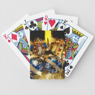 Christmas Nutcrackers Bicycle Playing Cards
