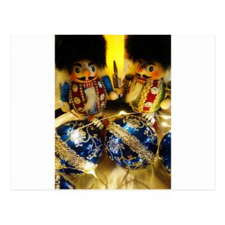 Christmas Nutcrackers Postcard