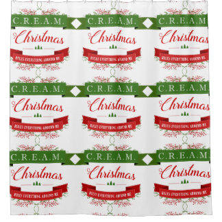 Christmas Obsessed Shower Curtain