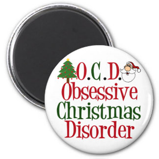 Christmas Obsession Magnet