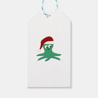 Christmas Octopus Gift Tags